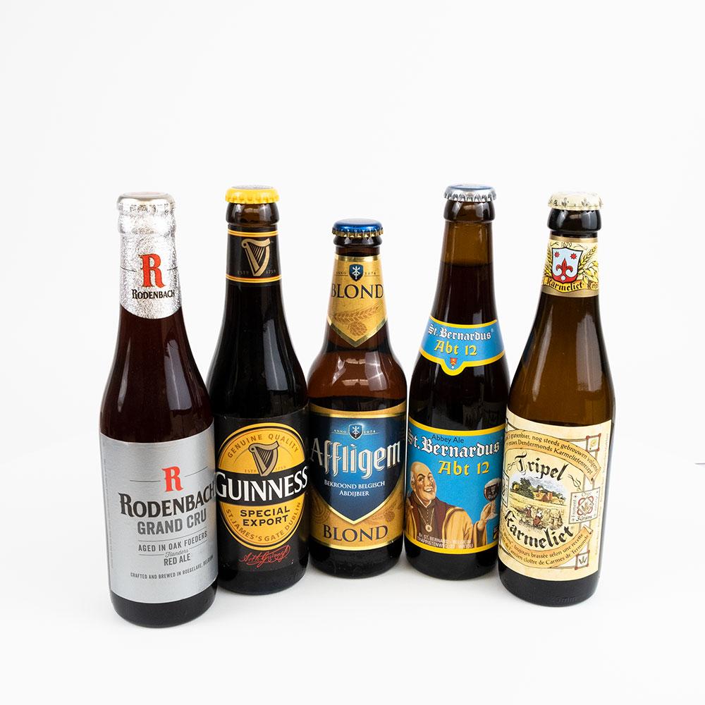 Wij hebben heerlijke bierpakketten om relaties of medewerkers te geven. Natuurlijk in een BonBox met jouw logo en boodschap.