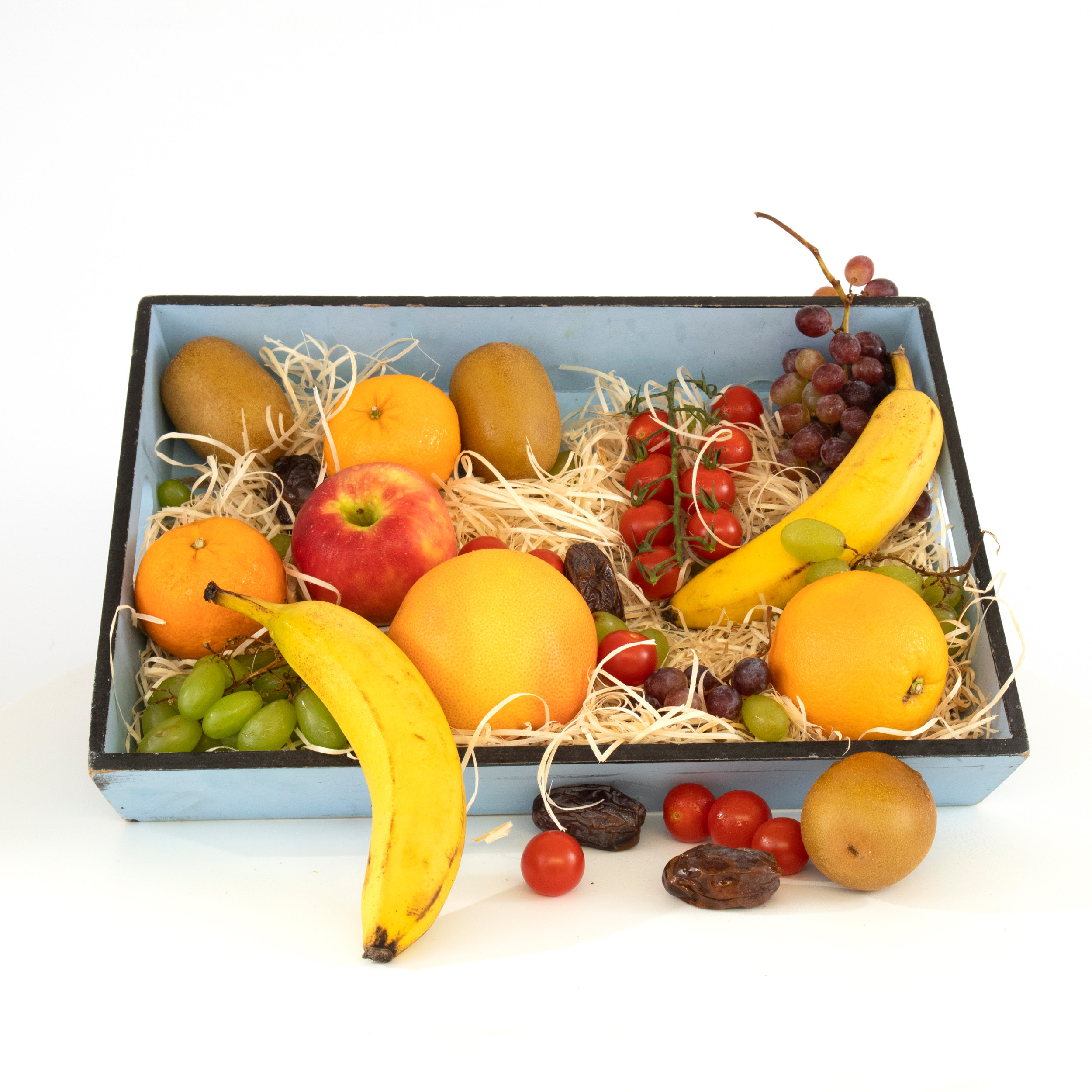 Ons fruit is heerlijk sappig en zoet. Geef hem in een prachtige BonBox met jouw foto en tekst erop!