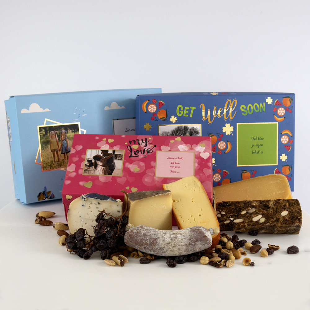 BonBox een heerlijke kaasplank en verwen iemand eens origineel en leuk!